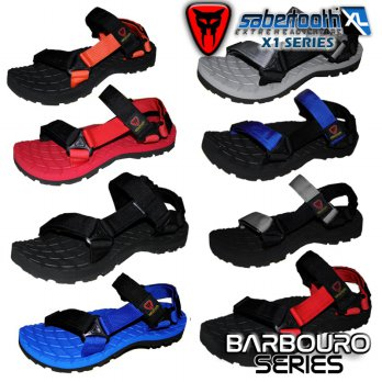 SABERTOOTH Xtra Large Size (Sz 45 S / D 47) - Sandal Gunung / Traventure Barbouro XL All Series