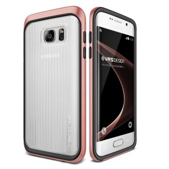 (Gold Product) Verus Triple Mixx Samsung Galaxy S7 - Rose Gold