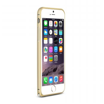 Love Mei Crossline Metal Bumper Iphone 6 - Gold