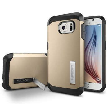 SGP Spigen Tough Armor Samsung S6 - Gold