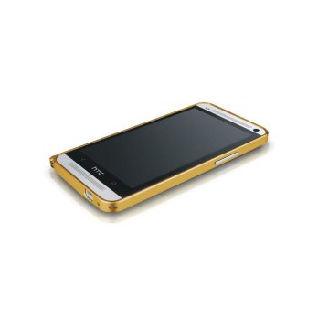 Love Mei Crossline HTC ONE M7 (Single Sim) Gold