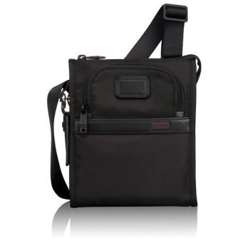 TUMI ALPHA 2 - 022110D2 Nylon Pocket Bag Small Black