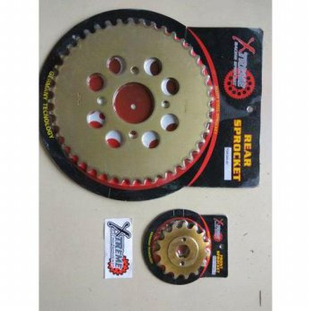 Hot Deal's GIR SET DEPAN BELAKANG HONDA TIGER 43-13