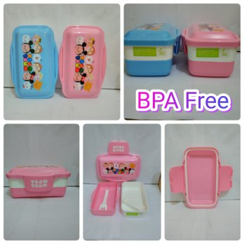 Lunch Box Susun Tsum Tsum BPA Free