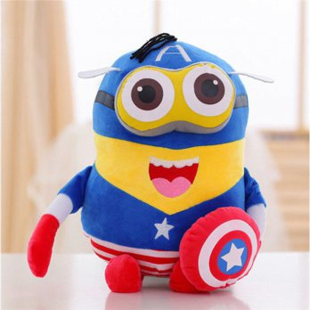 Boneka Minion Boneka Despicable Me Costum Boneka Captain America