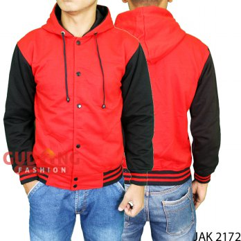 Men's Outerwear Jackets Baseball JAK 2172