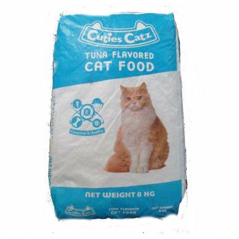 CP Petfood Cuties Catz Food TUNA - 8kg