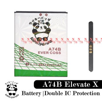Baterai Cross Evercoss A74B Elevate X Double IC Protection