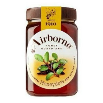 Madu Airborne Honeydew Honey 500 gram New Zealand Impor Pure natural