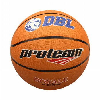 Proteam Bola Basket Rubber Royale Orange Size 7