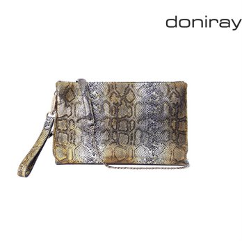 [Doniray] Leather Luxury hand bag SIGNORE PIER PORTFOLIO [cleopatra gold]/Italy Toscana leather/Tote