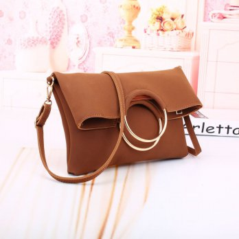 Fashion Bag 21868SN Yellow Brown