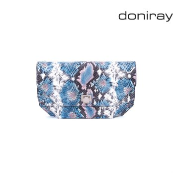 [Doniray] Leather Luxury hand bag VEGAS CLUTCH [canlendula bay]/Italy Toscana leather/Tote/satchel