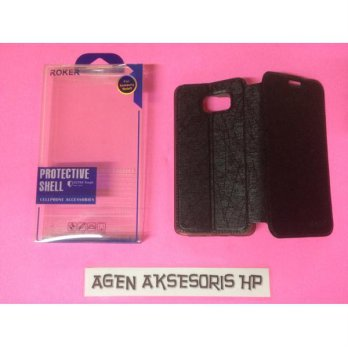 Flipcover ROKER Samsung Note 5 N920 5.7 inchi Sarung Buku Leather Case