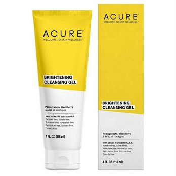 Acure Organics Brilliantly Brightening Cleansing Gel 118ml