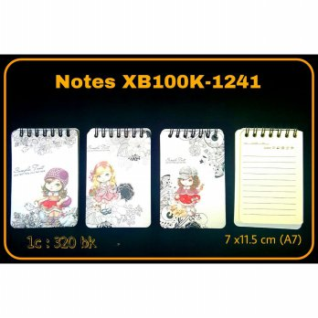MEMO NOTES TEGAK CUTE GIRL XB100K-1241