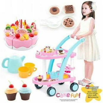 DIY CAKE PLAY SET TROLLEY 889-15A