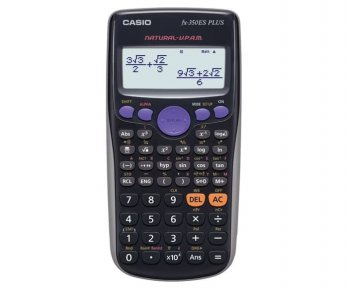 Unik Casio Scientific Calculator FX-350ES Plus Diskon