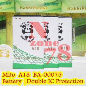 Baterai Mito A18 Fantasy Selfy 2 BA-00075 Double IC Protection