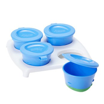 Tommee Tippee Pop Up Freezer Bowl and Tray  - 4 Pcs