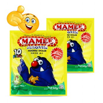 Mie Mamee Monster Chicken Flavour Noodle Snack