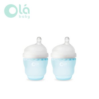 Olababy GentleBottle Botol Susu Bayi 120ml (2Pc)- Sky