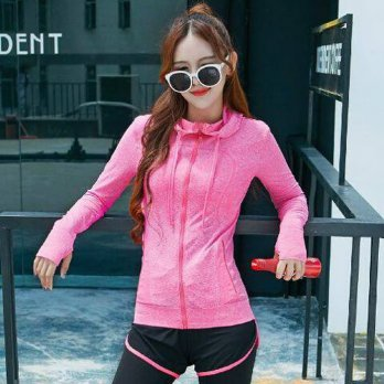 Jaket sport Gym Fitnes Olahraga Wanita modies gaya best seller