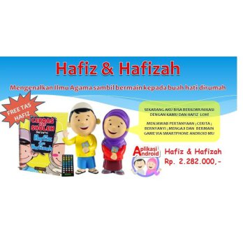 Boneka Hafiz-Hafizah Talking Doll