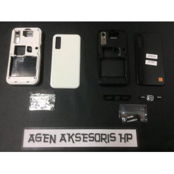 Casing Fullset Samsung Star S5233 Housing Bezel Backdoor Tulangan