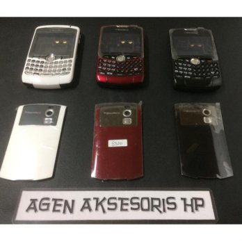 Casing Fullset BB Curve Blackberry 8300 8320 Housing Tulangan Backdoor