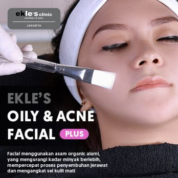 Ekles Clinic - Oily and Acne Facial Plus