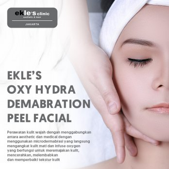 Ekles Clinic - Oxy Hydra Dermabration Peel Facial
