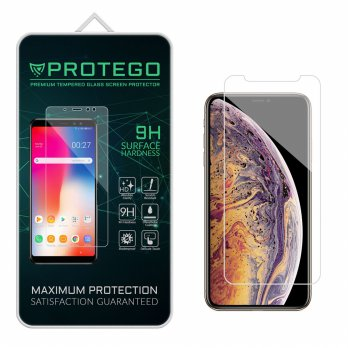 Buy 1 Get 1 Protego iPhone X / XS Tempered Glass Screen Protector