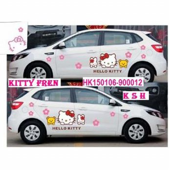 Stiker full body mobil hello kitty (900012)
