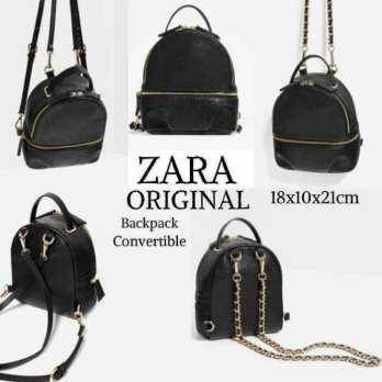 Termurah! TAS ZARA CONVERTIBLE BACKPACK ORIGINAL