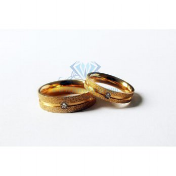 CINCIN COUPLE - GOLDEN METALIC RING