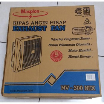 [Maspion] Ventilation Fan / Exhaust fan -Maspion- 12 inch exbahst fan MV-300NEX