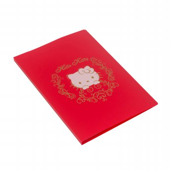 Bantex Display Book Hello Kitty 20 Sheets Folio Red #3183A09HK