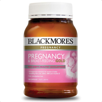 (POP UP AIA) Blackmores Pregnancy & Breast-Feeding Gold 180 Caps (exp April 2020)