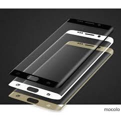 Anti Gores Kaca Tempered Glass Samsung S7 EDGE full bosy Clear/bening