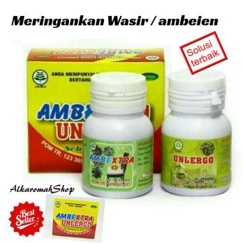 AMBEXTRA UNLERGO - HERBAL AMBEIEN & WASIR &