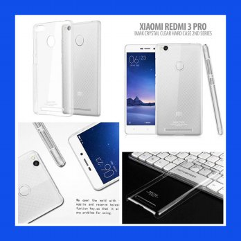 Xiaomi RedMi 3 Pro Imak Crystal Clear Hard Case 2nd Series Casing Cover