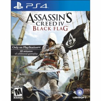 Diskon PS4 GAMES ASSASSINS CREED IV: BLACK FLAG REG 1