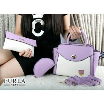 New Furla Marcelia Cultur Smooth leather 3in1(1611)