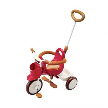 Sepeda Anak Tricycle IIMO Eternity RED 01 Roda Tiga Japan Original