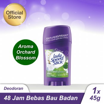 Lady Speed Stick Orchard Blossom Deodorant/Deodoran 45gr