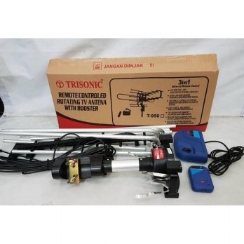 Trisonic rotating antena T950 remote control booster