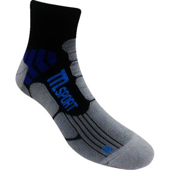 Marel Socks Running Ankle Sock MA1P-16-RUN004 Black / MGH / Blue-Kaos Kaki
