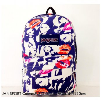 Tas Ransel JAN Sport Canvas Backpack JS-Canvas - 5