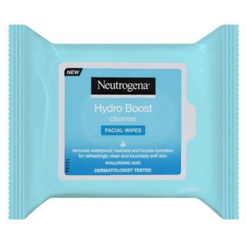Neutrogena Hydro Boost Cleanser Facial 25 Wipes